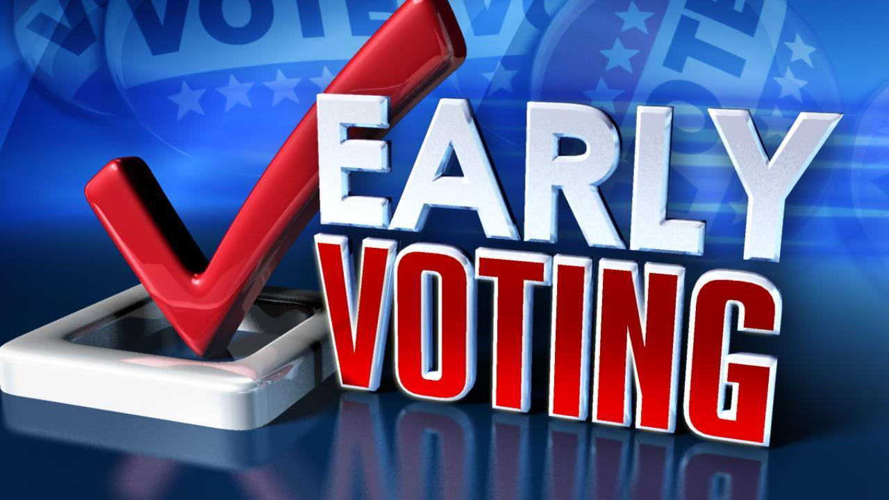 Early voting starts on Oct 12th in Georgia