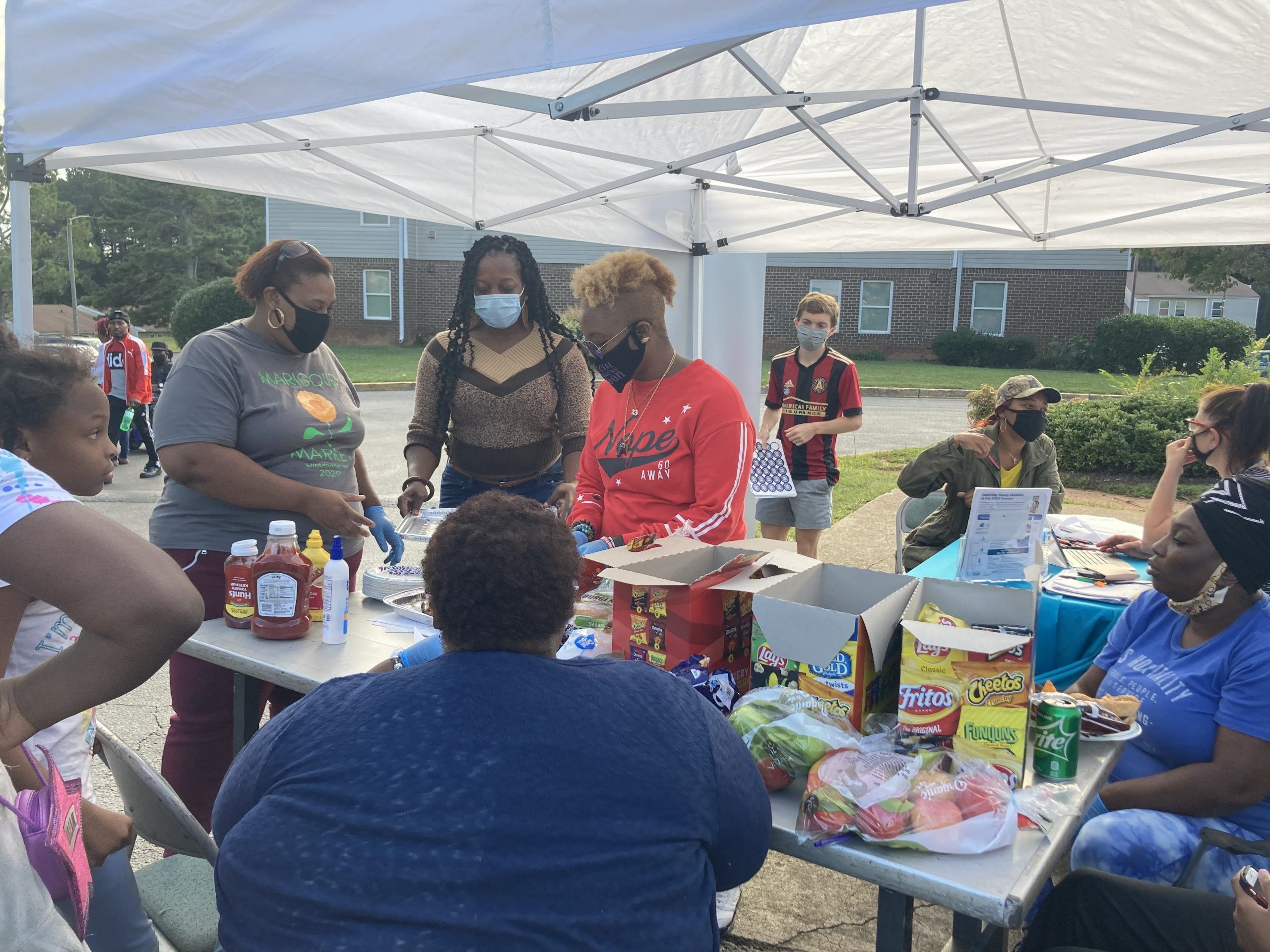 Youth is Life-Athens collaboration with Strong Beautiful Godly Girls and Economic Justice Coaltion serving in the Rolling Ridge Apartment Complex,Athens GA.