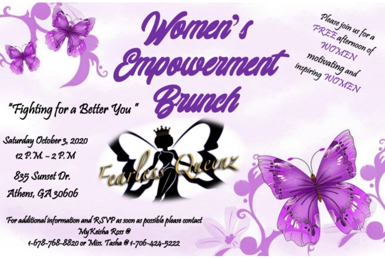 Womens' Empowerment Brunch - Youth Is Life Sthens- Fighting for a better you - Oct 3rd